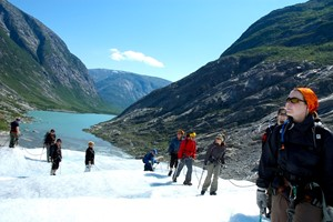 Glacier hiking at Nigardsbreen 5 hours