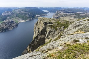 Preikestolen Off The Beaten Track - Lysefjord, Norway