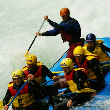 Kurze Rafting-Tour in Sjoa