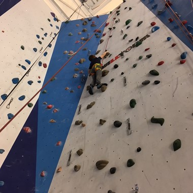 Intro to climbing at the Norwegian Mountaineering Centre
