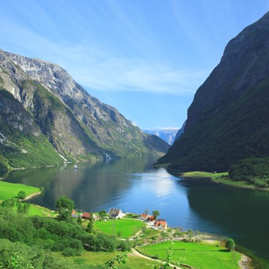 The UNESCO Naeroyfjord - Norway