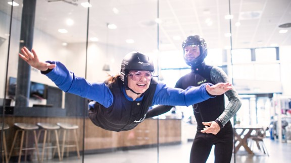 Indoor Skydiving in Voss