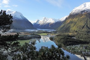 Travel to Åndalsnes with Fjord Tours on the Epic Fjord & Rail tour  - Åndalsnes, Norway
