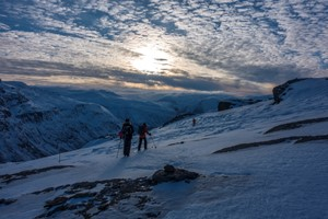 Trolltunga Sunset Winter tour