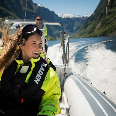 Experience Heritage fjord safari on the Norway in a nutshell® tour by Fjord Tours