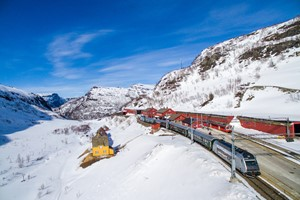 Travel on one ticket with Fjord Tours and Experience the Flåm Railway on the Northern Lights & Norway in a nutshell® tour