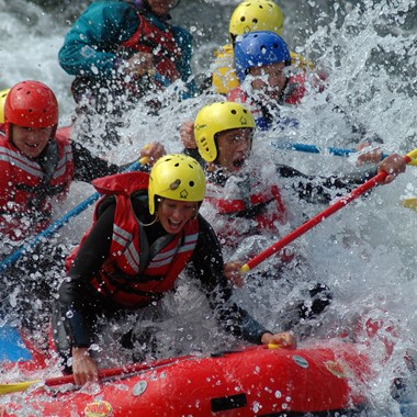 Rafting in Dagali Geilo