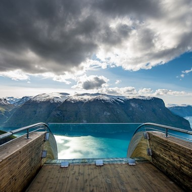 View From Stegastein - Aurland, Norway