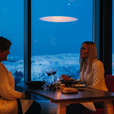 Ulriken By Night - Dinner with a view