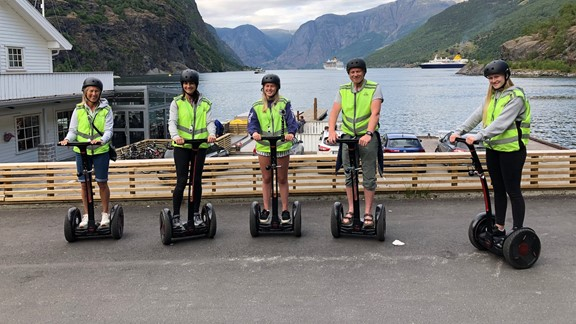 Guided Segway tour in Flåm - 45 min