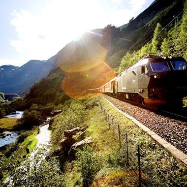 Experience the Flåm Railway on the Hurtigruten & Norway in a nutshell® tour - Flåm, Norway