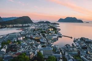 Aksla Viewpoint  - Alesund, Norway