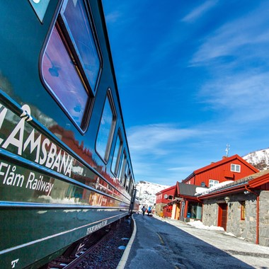 Myrdal Station - Norway in a nutshell® winter tour by Fjord Tours - Flåm, Norway