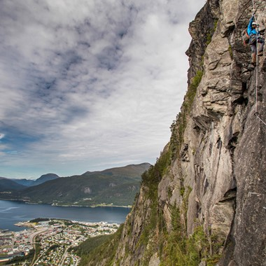 Climbing in Åndalsnes - Norway