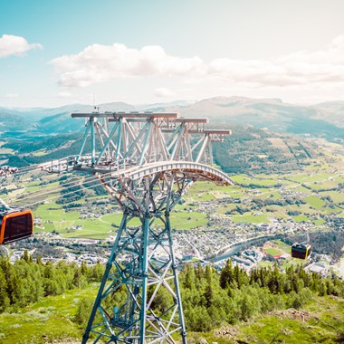 Voss Gondola - Voss, Norway - Norway in a nutshell® Family