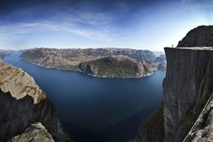 Pulpit Rock & Norway in a nutshell®  - Preikestolen Panoramica  - Lysefjord, Norwegen
