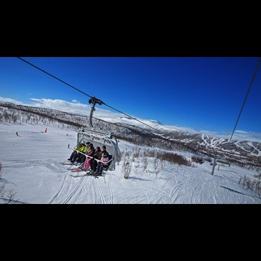 Skiing in Norway, Geilo | Train and ski passes included | Fjord Tours