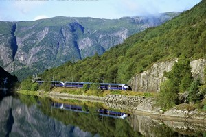 Experience the Bergen Railway on the Hardangerfjord in a nutshell tour & Rosendal  - Bergen Norway