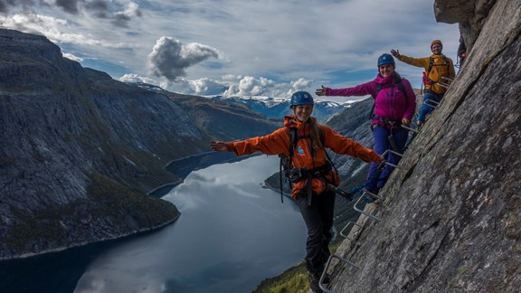 Trolltunga via Ferrata