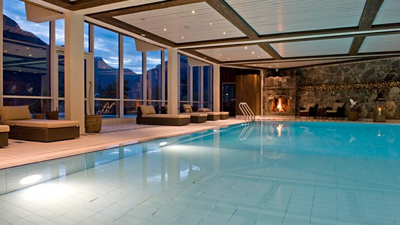 Spa at Hotel Union in Geiranger