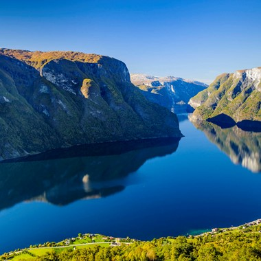 Hurtigruten & Norway in a nutshell®  - Aurlandsfjord, Norway