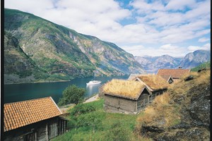 Otternes Farm by the Aurlandsfjord - Aurland  Norway
