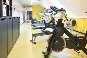 Gym at Thon Hotel Spectrum, Oslo, Norway