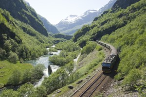 The Flåm Railway -Norway