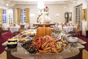 Buffet at Dr. Holms Hotel - Geilo, Norway