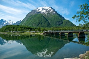 Summer time in Åndalsnes - Norway