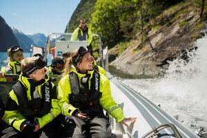 Fjord safari with kids in Flåm - Norway, Norway in a nutshell® Family