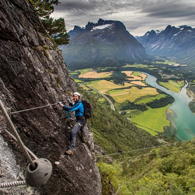 West Wall Romsdal- Åndalsnes, Norway