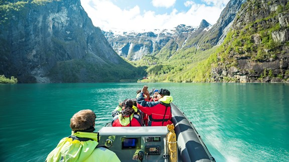 Fjord cruises and fjord safari