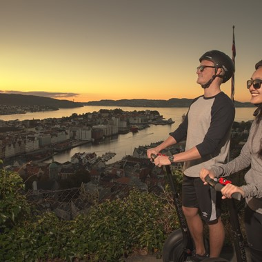 Bergen by Night Segway tour