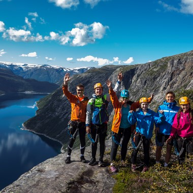 Trolltunga hike - odda, Norway