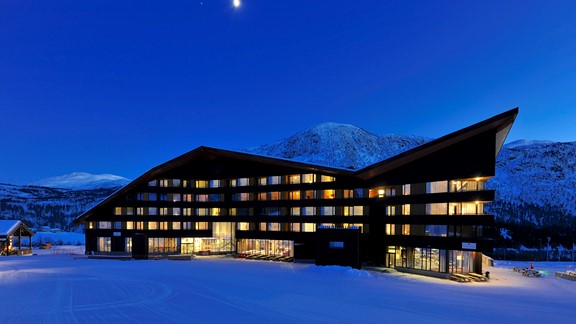 Winter evening at Myrkdalen Hotel Credit Nils Petter Dale.jpg