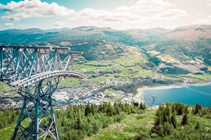 Experience the Voss Gondola on the Explore Voss by Fjord Tours - Voss, Norway