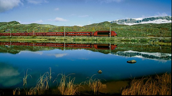 The Bergen Railway, Norway