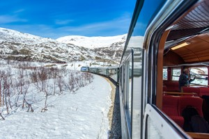 The Flam Rwailay  -  Norway in a nutshell® winter tour by Fjord Tours - Flåm, Norway