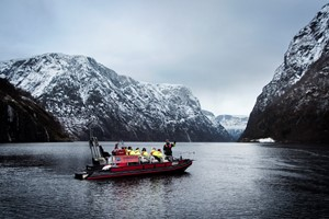 Winter Fjord Safari and Viking dinner in Flam