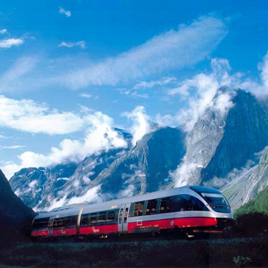 Experience The Rauma Railway on the Geirangerfjord & Norway in a nutshell® tour - Åndalsnes, Norway