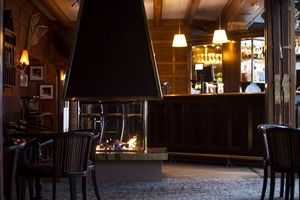 The bar at Dr. Holms Hotel - Geilo, Norway