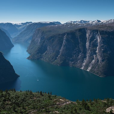 Experience the magical Nærøyfjord on the Sognefjord & Nærøyfjord in a nutshell tour by Fjord Tours - The Nærøyfjord, Norway