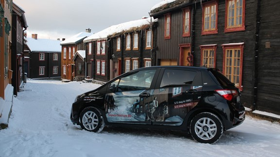 Toyota Yaris rental car in Røros - Røros, Norway