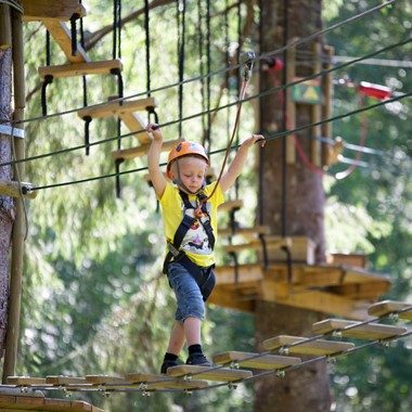 Mini & micro courses - Voss High Ropes & Zipline park