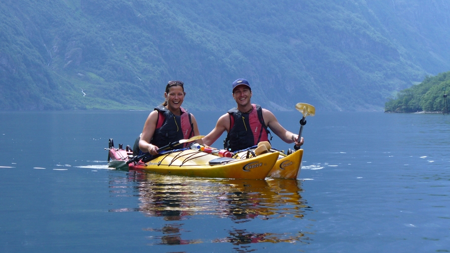 Sea kayaking day tour Gudvangen