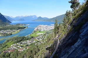 Experience Åndalsnes with Fjord Tours on the Epic Fjord & Rail tour  - Åndalsnes, Norway