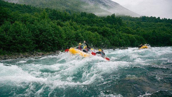 Rafting in Valldal