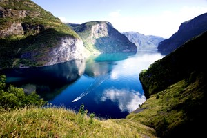 Experience the UNESCO Nærøyfjord on the Hurtigruten & Norway in a nutshell® tour - Flåm, Norway