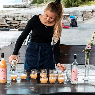 Cider tasting at Agatun Farm - Cider tour in the Hardangerfjord with Fjord Tours   - Hardanger, Norway